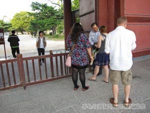 敦化門(トンファムン)の入口