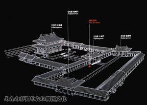 仁政門(インジョンムン)、仁政殿(インジョンジョン)の地図