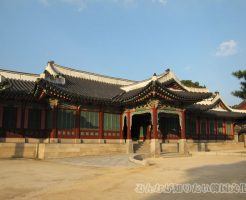 煕政堂(ヒジョンダン)の入口
