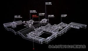 薬善斎(ナクソンジェ)一帯の地図