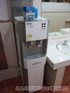 トイレにある飲料水