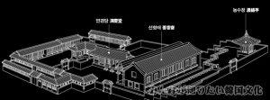 演慶堂(ヨンギョンダン)一帯の地図