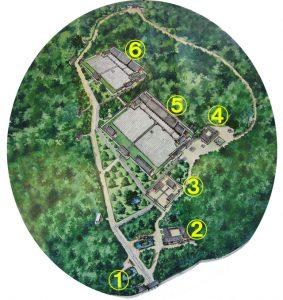 宗廟(チョンミョ)の全体地図