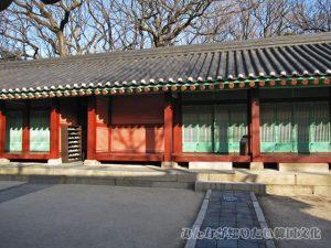 香大庁(ヒャンデチョン)の正面