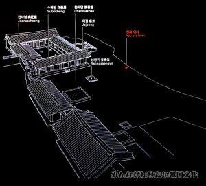 典祀庁(チョンサチョン)一帯の地図