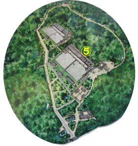 5番 正殿(チョンジョン)の場所