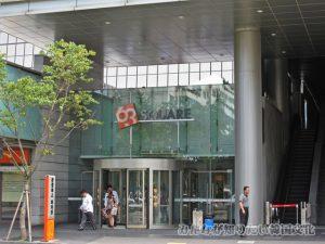 63スクエア(63ビルディング)の入口