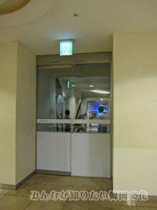 エレベーターを降りたところ