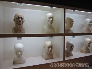 蝋人形の作成過程