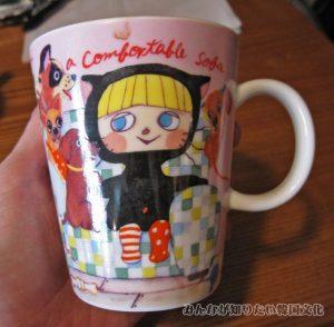 ココアのカップ