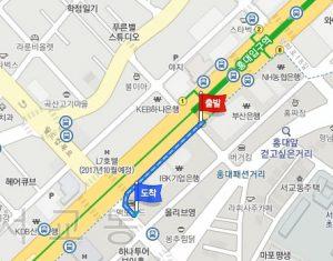 最寄り駅から神仙(シンソン)ソルロンタンへのアクセス