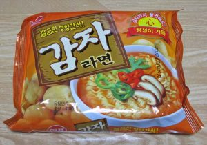 ラーメン(ジャガイモの麺)
