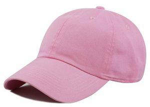 韓国人女性が好きなキャップ(ピンク)