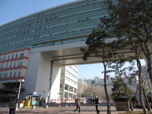 ソウルの麻浦区にある弘益大学校(ホンイクテハッキョ)